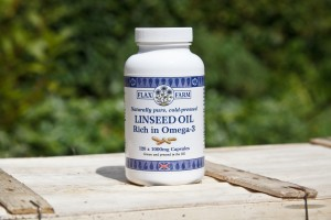 Flax Farm's cold-pressed Linseed oil can be even better than fish oils