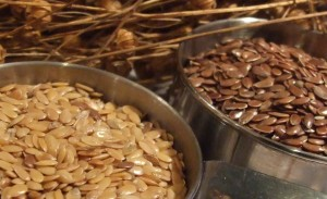 Brown or gold linseed (flax) are nutritionally the identical