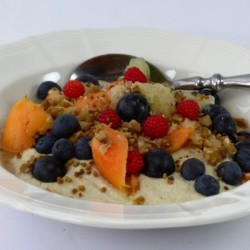 Budwig muesli with berries