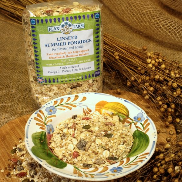 Summer Linseed Porridge