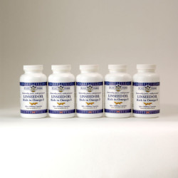 Linseed oil capsules 5 x 120 x 1000mg