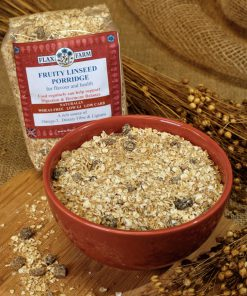 Fruity linseed porridge loose