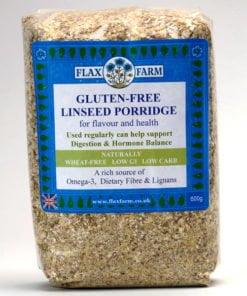 Gluten-free-linseed-porridge