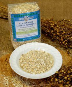 Gluten-free linseed porridge