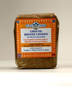 Bronze ground linseed