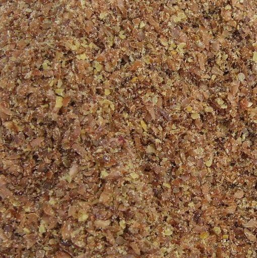 Ground bronze linseed