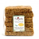 Triple ginger Flaxjacks are healthy tasty ginger flapjacks made with ground flax.
