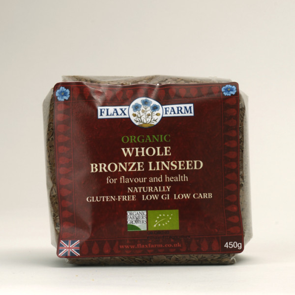 Organic Whole Bronze Linseed