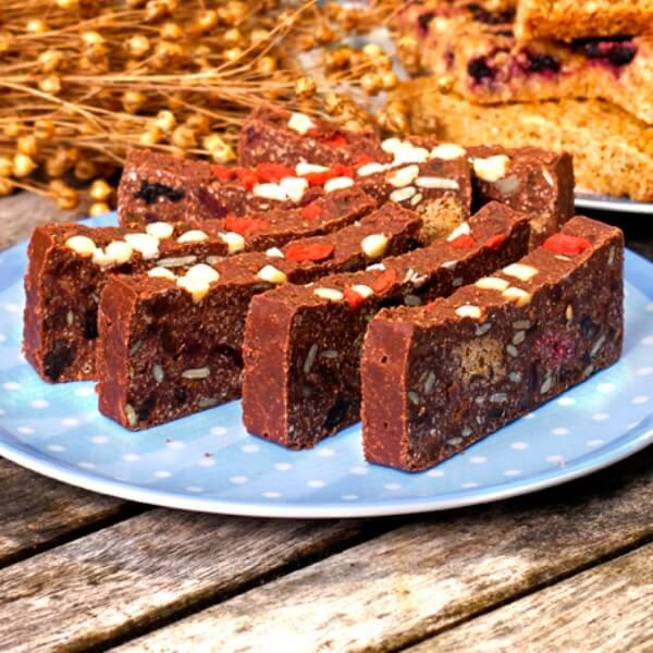 Chocolate Tiffin Flaxjacks
