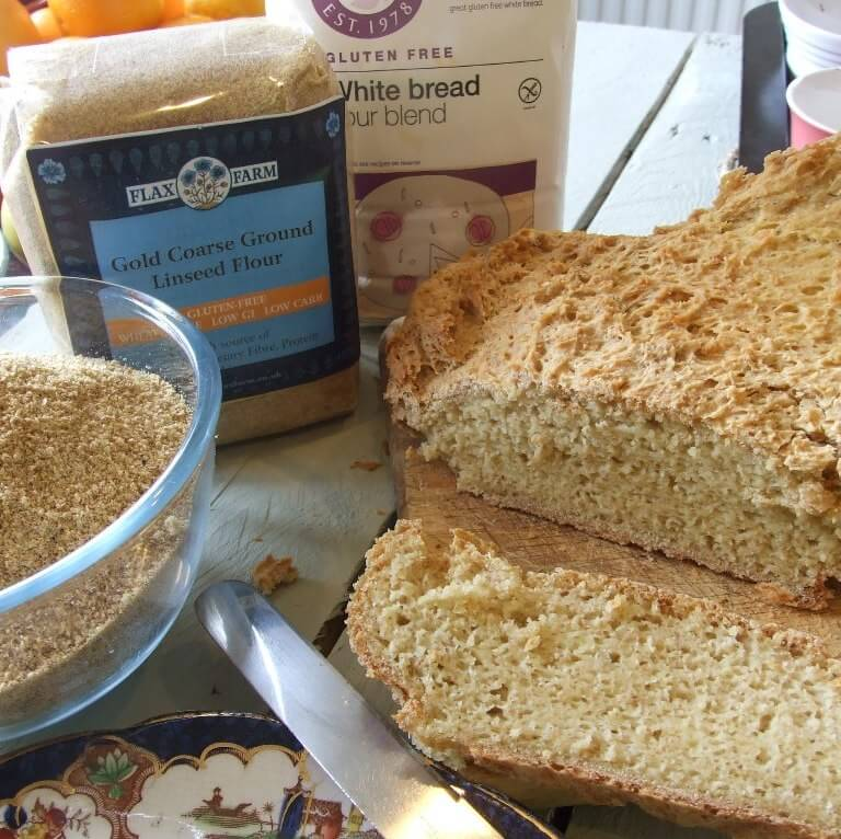 Golden Coarse Ground Linseed Flaxseed Flour 450g