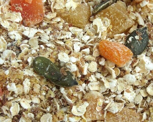 Flax Farm golden linseed muesli