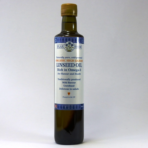 high lignan linseed oil uk