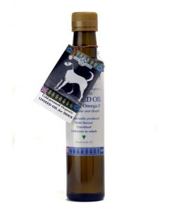Organic cold-pressed linseed oil dogs 250ml
