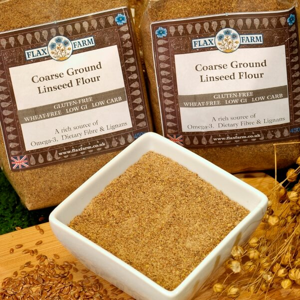 Bronze Coarse Ground Linseed Flaxseed Flour 450g