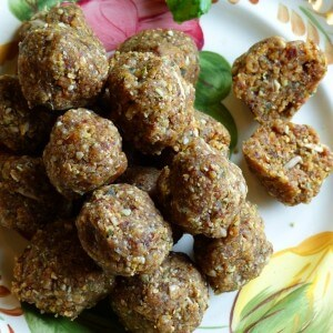 Pinni laddoo, Linseed energy balls