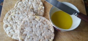 Cold pressed linseed (flaxseed) oil makes a great alternative to butter for bread or crackers.