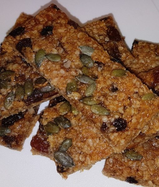 Wheat-free Mincepie Flaxjacks