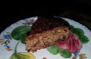 Quick Wheat-free, gluten-free Mincemeat Christmas fruit cake recipe