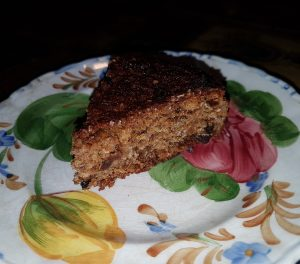 Wheat-free, gluten-free Mincemeat Christmas fruit cake recipe
