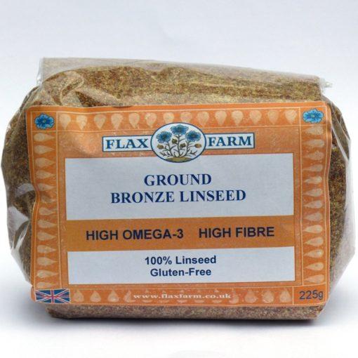Ground-bronze-linseed 225g