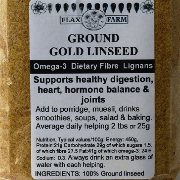 Ground-gold-linseed 225g