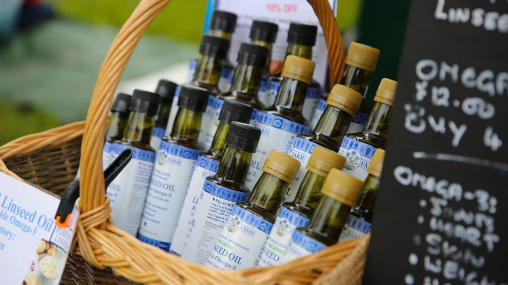 Flaxseed Oil Linseed oil Organic UK-grown